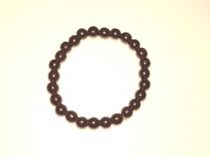 Hematite Gemstone Crystal Power Bracelet (no toggle)