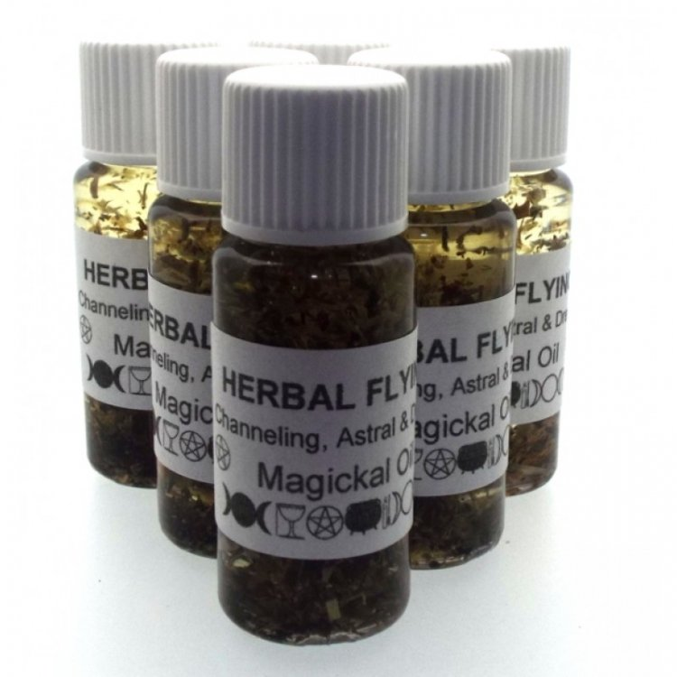 Herbal Flying Oil Hand Blended / Extremely Powerful