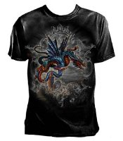 The Highgate Horror Mens Fitted T-Shirt - Extra Large