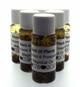 Horn Of Plenty Spell Oil Success And Prosperity