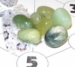 Jade Crystal Grid For Wealth + Prosperity