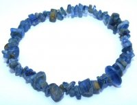 Kyanite Gemstone Chip Crystal Bracelet