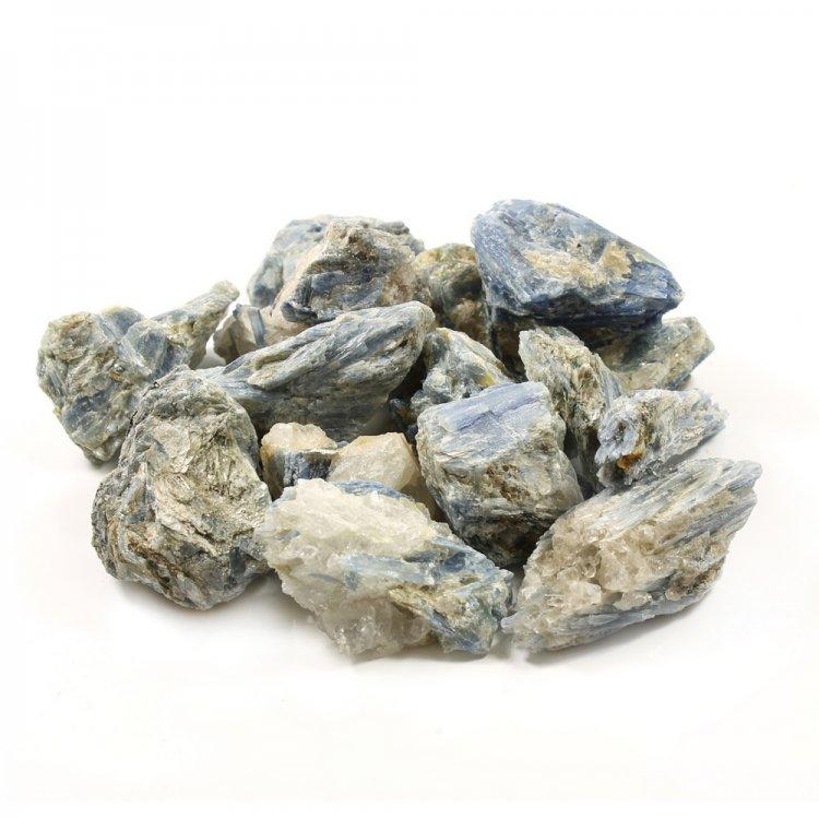 Kyanite in Quartz Cluster Unpolished