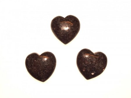 Larvikite Gemstone Crystal Heart