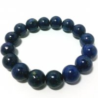 Lapis Lazuli Gemstone Crystal Power Bracelet 12mm