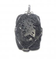 Puffed Natural Volcanic Lava Rock Pendant