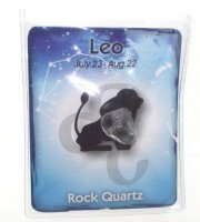 Leo Birthstone Zodiac Crystal With Pouch And Card