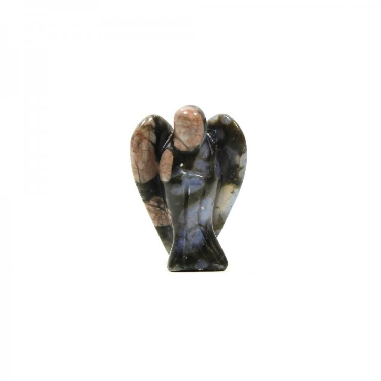 Llanite (Que Sera) Mini Pocket Guardian Gemstone Angel