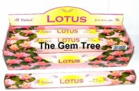 Lotus Incense Sticks Full Box 120 Sticks - TULASI