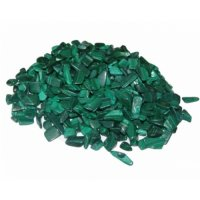 Malachite Tumbled Chip Pack - 25gms