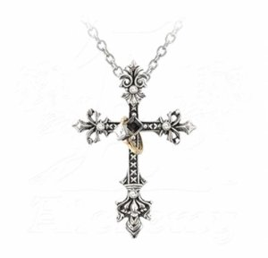 Maryam Theotokos Ring Cross Pendant