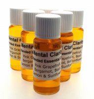 Mental Clarity Herbal infused Magickal Oil