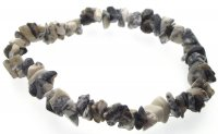 Merlinite Gemstone / Crystal Chip Bracelet