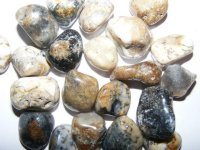 Merlinite Tumbled Gemstone - Medium
