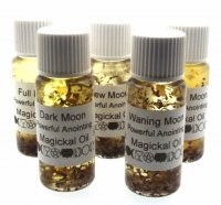 Full Set Of 5 Moon Phase Magickal Oils