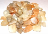 Moonstone Tumblestones - Set Of 5