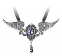 My Soul From The Shadow Angel Wings Pendant