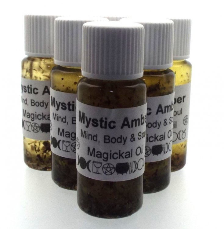 Mystic Amber Oil - Very Beneficial To Mind, Body And Soul