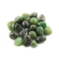 Nephrite Jade Tumblestones / Gemstones - Pack of 3