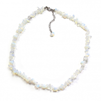 "Opalite 18"" Gemstone Chip Necklace"