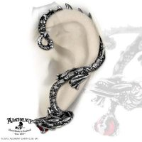 Oriental Dragon Ear-wrap Earrings