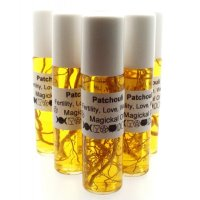 Roll on Bottle of Infused Herbal Patchouli Oil