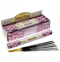 Purple Rose Incense Sticks Full Box 120 Sticks