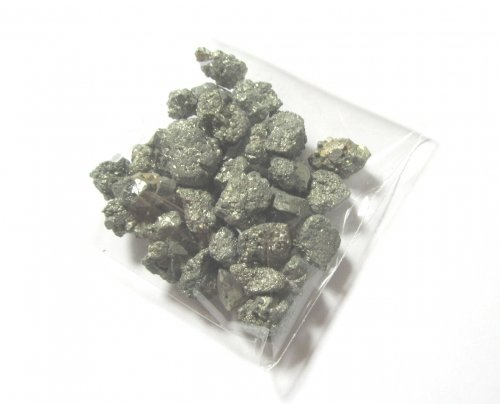 Pyrite Granules 5mm to 10mm - 50gms pack