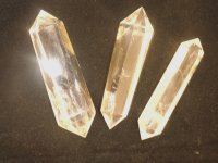 Quartz Double Terminated Quartz Large Gemstone Crystal Wand