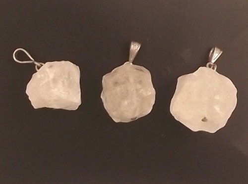 Quartz Ice Rock Pendant