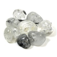Quartz with Inclusions Tumbled Gemstone - A Grade