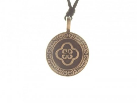 Celtic Symbol Round Pewter Pendant - 12 designs to choose from!