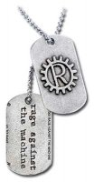 Rage Against The Machine Dog Tag