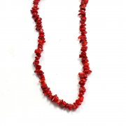 Red Sea Bamboo Coral Necklace 18""