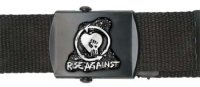 Rise Against - Heartfist + Logo Web Belt