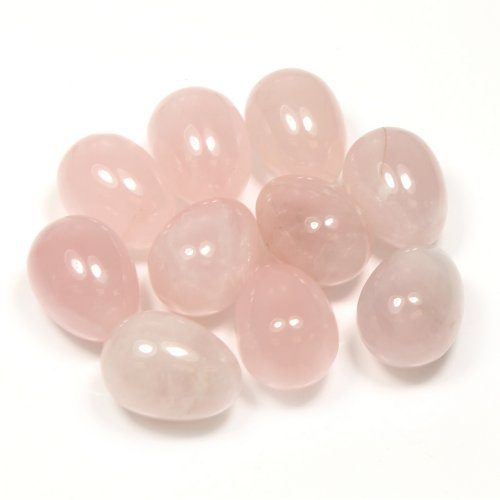 Rose Quartz Gemstone Egg