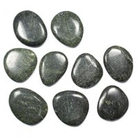 Russian Serpentine Smooth Stone / Worry Stone