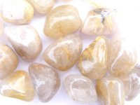 Rutilated Quartz Tumblestone