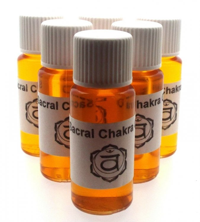 Sacral Chakra Oil Sensuality, Emotions And Freedom