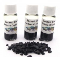Sacred Black Andara Crystal Infused Oil with COA