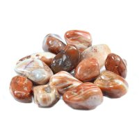 Sardony Large Tumbled Gemstone