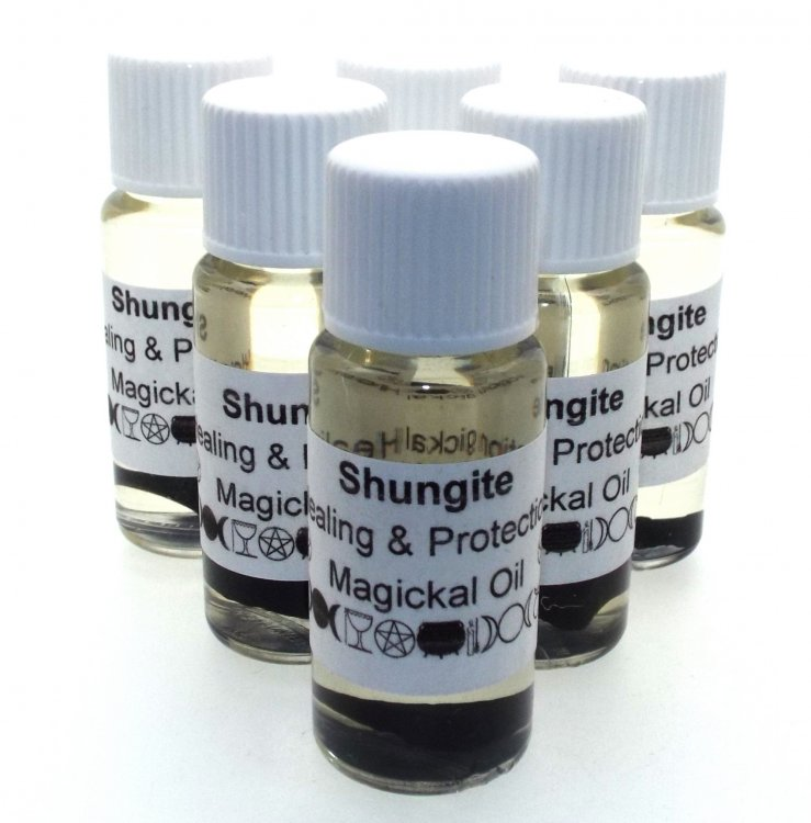 Shungite Gemstone Infused Oil - Click Image to Close