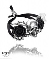 Skull and Briar Rose Armwear / Bracelet