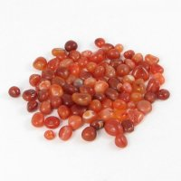 Carnelian - Set of 5 Small Gemstones / Crystals