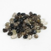 Smokey Quartz Tumbled Gemstones - Set Of 5