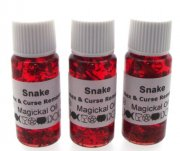 Snake Herbal Infused Ritual Magical Oil
