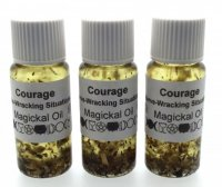 Courage Spiritual Herbal Oil