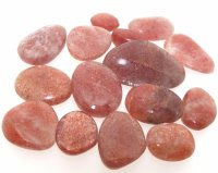 50gms pack of AAA Graded Indian Sunstone Polished Gemstones