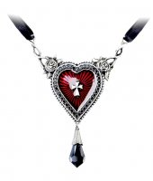 The Sacred Heart Pendant Alchemy Gothic