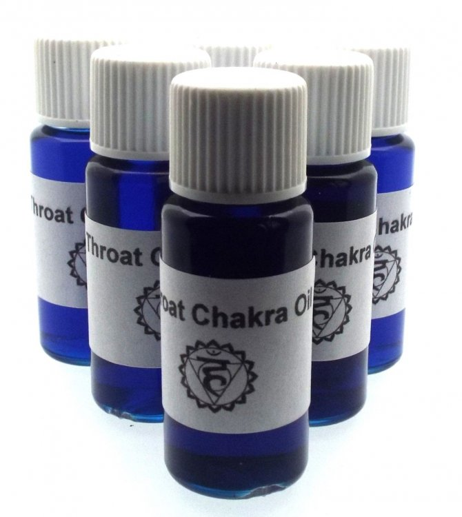 Throat Chakra Oil Creative Expression And Communication
